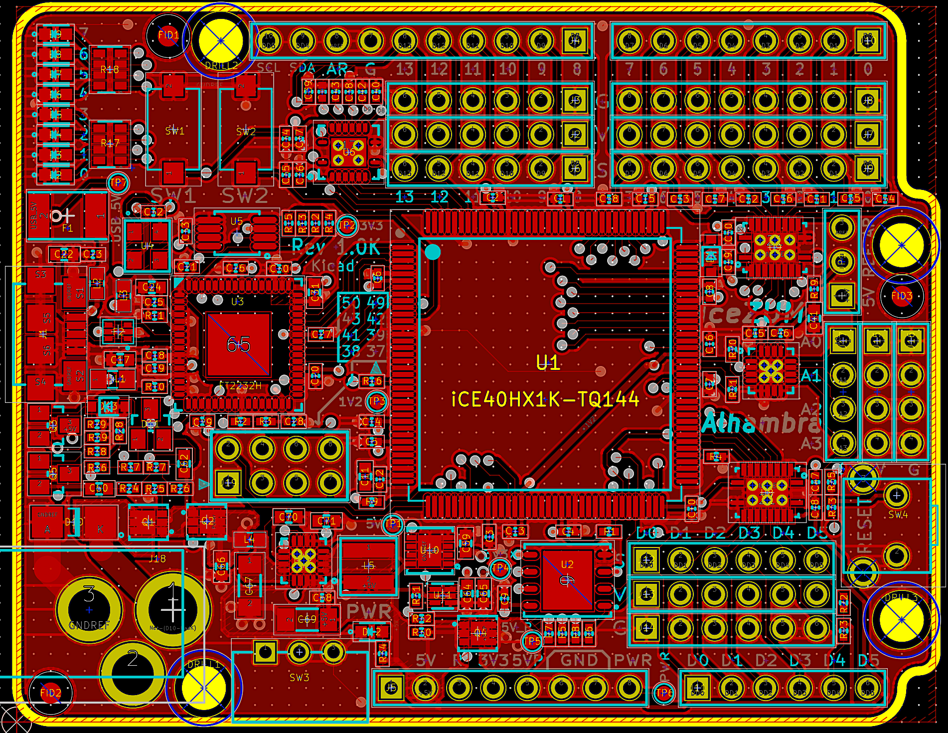 Eagle vs KiCad: first thoughts – Machina Speculatrix