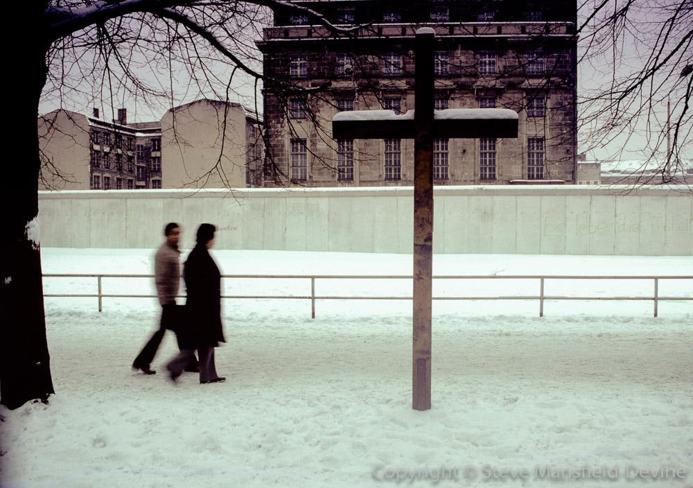 Berlin Wall, West Berlin, 1981