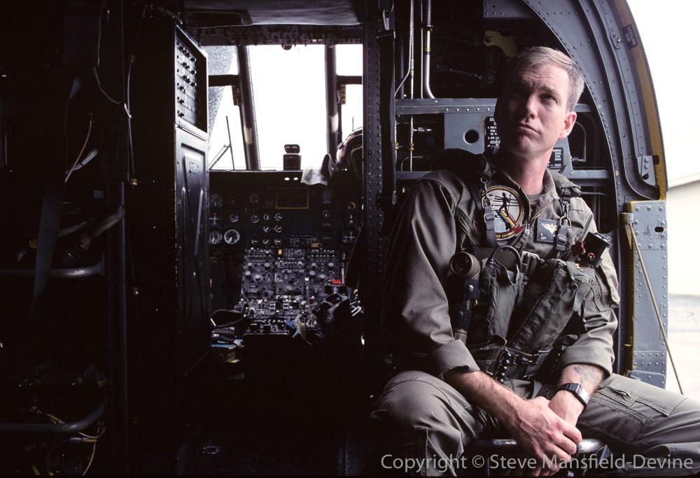 SAR pilot, US Marine Corps Air Station Kaneohe BayOahu. Hawaii, USA