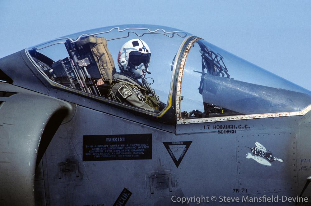 Pilot, McDonnell-Douglas AV-8B Harrier II