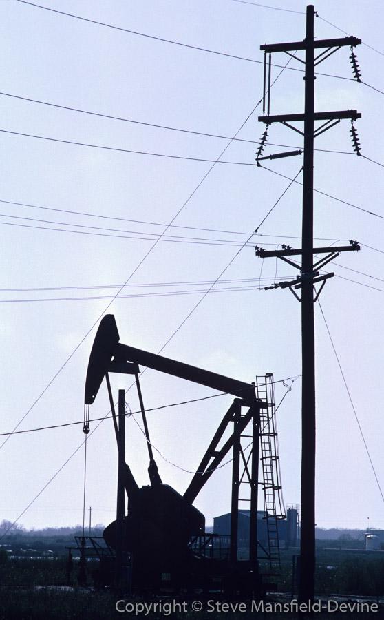 Oil Well, Texas, USA