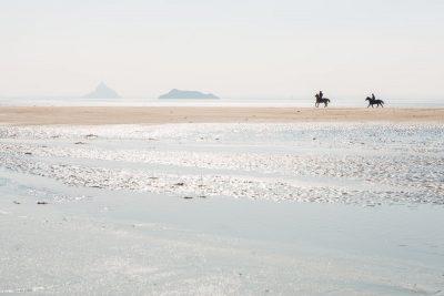 Bec d'Andaines, Baie de Mont St Michel, Manche, Normandy, France